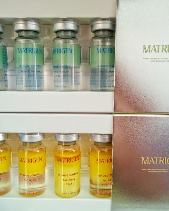 MATRIGEN BI PHASE Control Fluid Relax & Moisture EGF 5 pcs/1 pack