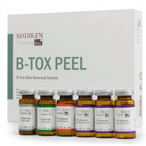 Matrigen B-Tox Peel SRS - Skin Renewal System Standart 12 pcs