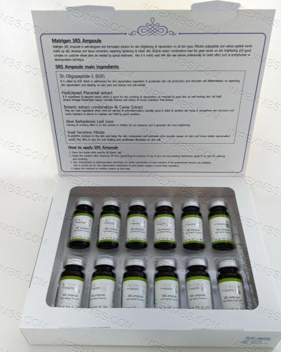 Matrigen Anti-Aging Ampoules  SRS - Skin Rejuvenation System 12 pcs