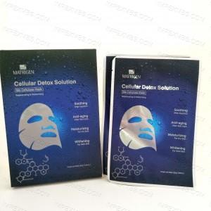 Matrigen Cellular Detox Solution Mask Bio Cellulose - Soothing, Anti-Aging, Moisturizing, Whitening 1 pack /5 pcs
